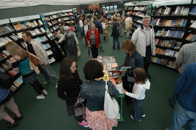 Busy bookshop