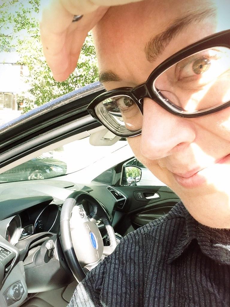 driving the Ford Escape Titanium