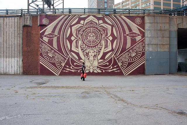 Shepard Fairey, Dumbo Walls