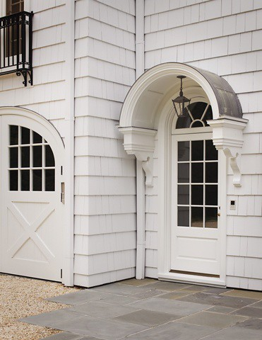 Things That Inspire: Design Element: Metal and Canvas Awnings