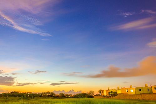 sunset color méxico clouds atardecer yucatán nubes puestadelsol mérida
