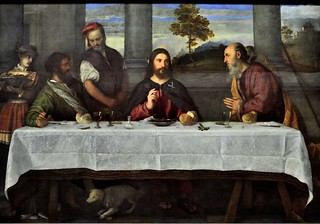 Supper at Emmaus c1533, Titian