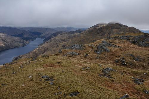 Loch Shiel and Sgurr Ghiubhsachain