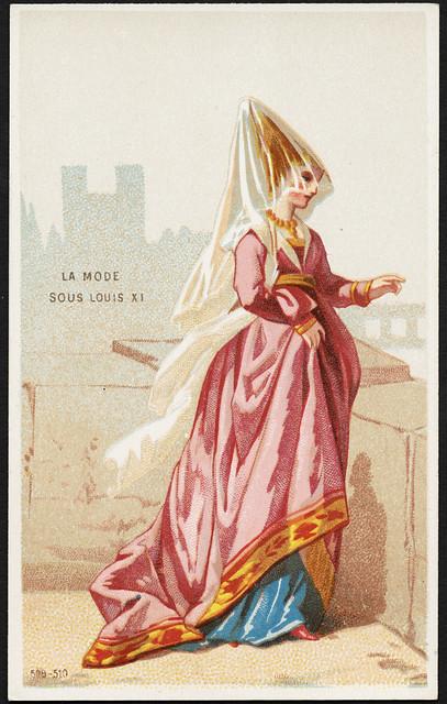La mode sous Louis XI. [front]