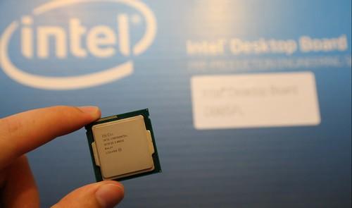 Intel i5 4430 procesorius ir Intel DB85FL Haswell motininė plokštė