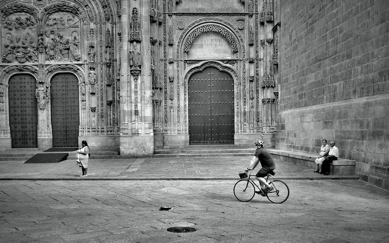 Cycling in Salamanca