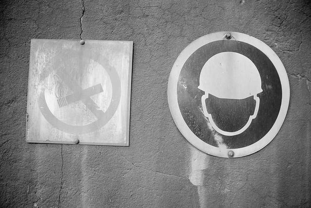 no smoking helmet