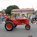 Bright Orange Tractor