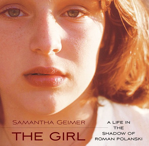 Cover of The Girl, featuring the author as a teen