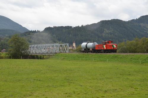 18.09.2013 (IV); Oostenrijk, dag 19, cargo op de Murtalbahn