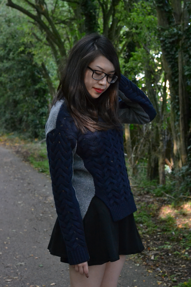 Daisybutter - UK Style and Fashion Blog: what i wore, ootd, lookbook, AW13, eudon choi for river island design forum
