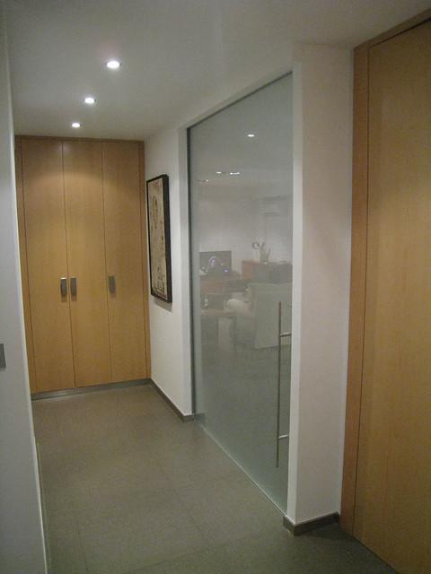Puertas correderas de cristal - Puerta cristal cocina ...