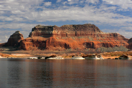 On Lake Powell Utah