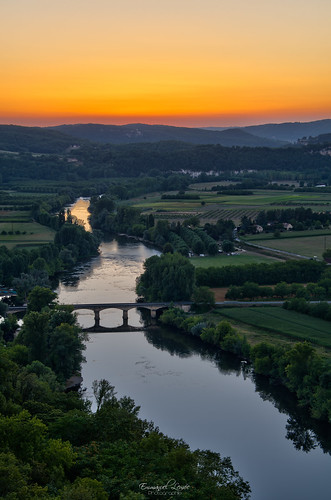 Sunset Over The Dordogne [Explored #70]