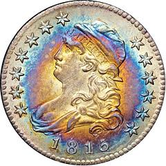 1815 B-1 Quarter Dollar obverse
