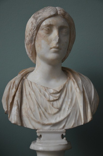 The Empress Crispina, wife of Commodus, c. AD 180, Ny Carlsberg Glyptotek, Copenhagen