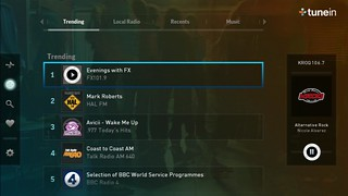 TuneIn on PS3 and PS Vita