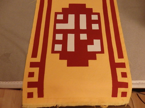 Journey scarf in progress