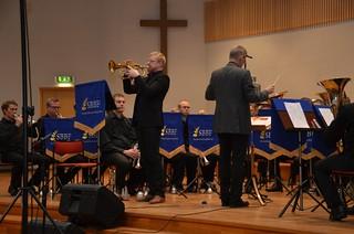 Brassbandfestivalen 2012 - Gnosjö Brass Band med solist Emil Lang