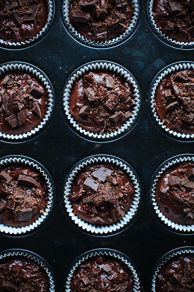 schoko chip muffins