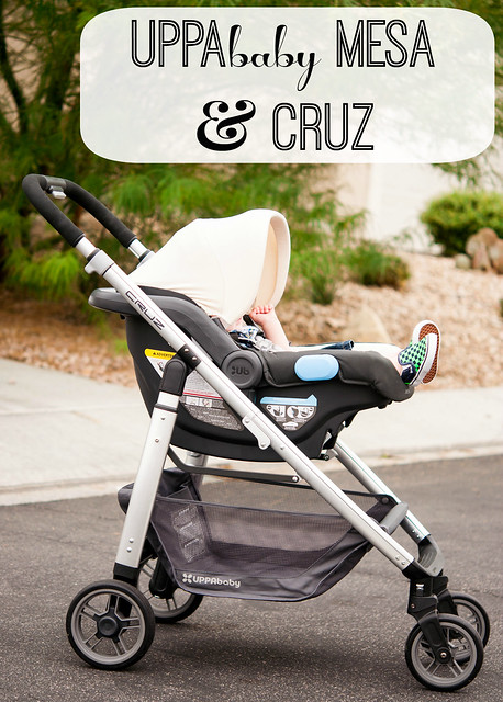 the new MESA infant car seat {UPPAbaby} - in the know mom