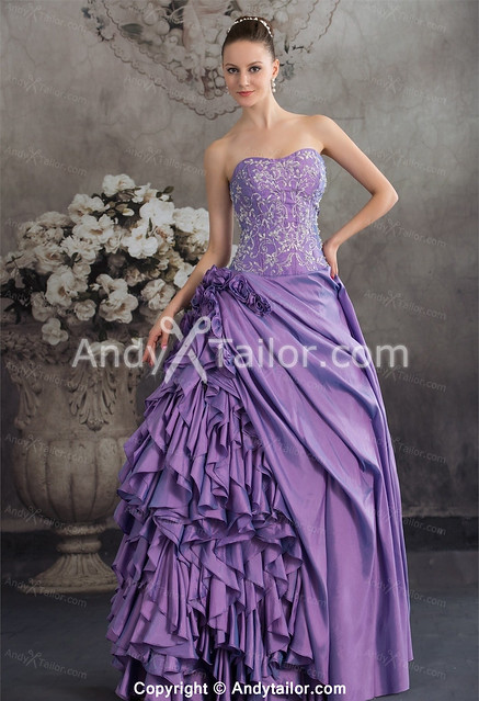 Elegant-Purple-Sheath-Floor-Length-Ruched-Special-Dress-For-Sale