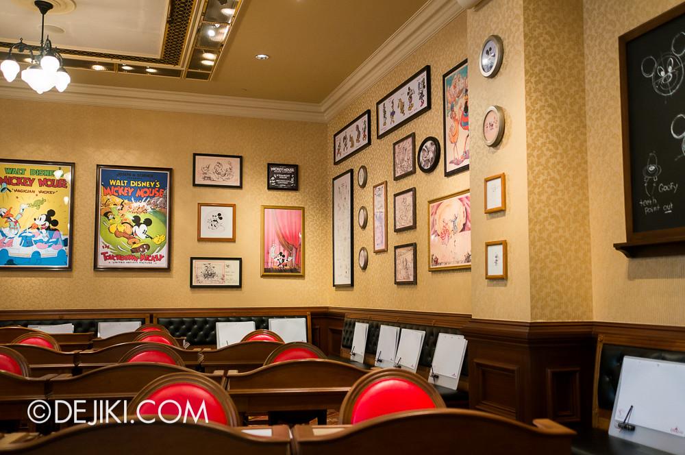 HKDL - Main Street USA Christmas Town - Animation Academy