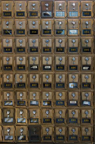Hyannis Post Office Bixes
