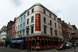 The Coach and Horses in Soho
