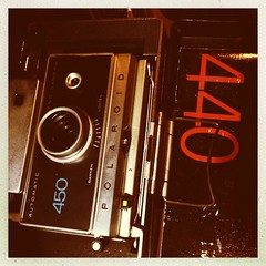 Nana hooked me up!! Polaroid 440 with packaging and original case! W00t! #lomography #landcamera