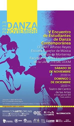 V Encuentro de Estudiantes de Danza Contemporánea