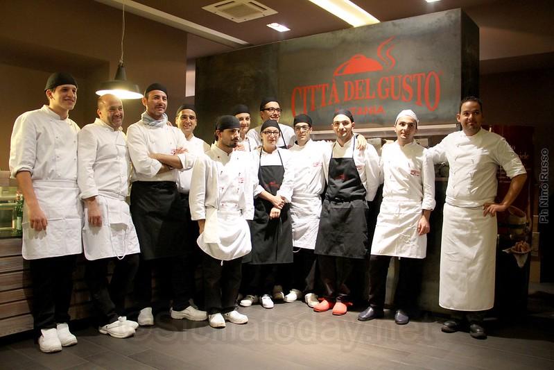 Imparare e poi osare, prove di alta cucina alla Città del gusto di Catania