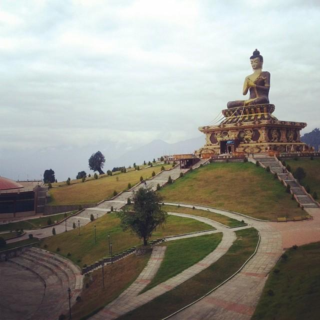 Big Buddha. Ravangla, Sikkim