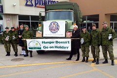 Toronto Scottish Regiment Food Drive