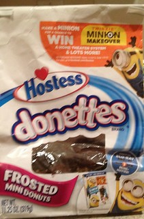 Hostess MINION MAKEOVER PACKAGING