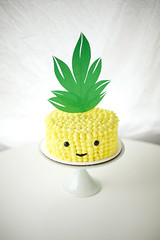 pineapple cake! hey buddy!