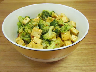Chipotle-Citrus Tofu and Broccoli