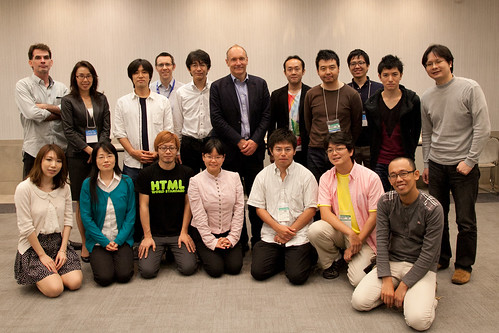 Sir Tim Berners-Lee とランチ!