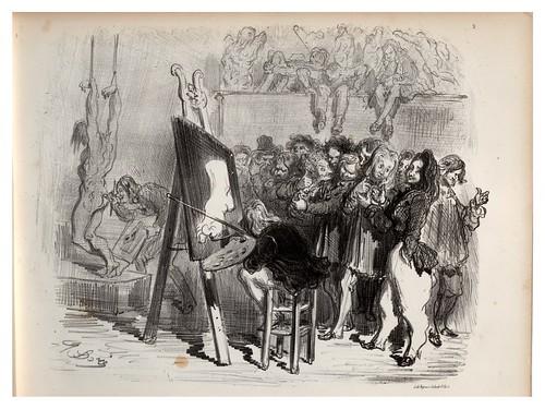 009-Ratas pintoras-La Ménagerie parisienne, par Gustave Doré -1854- Fuente gallica.bnf.fr-BNF