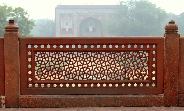 La tumba de Humayun. Delhi. India.