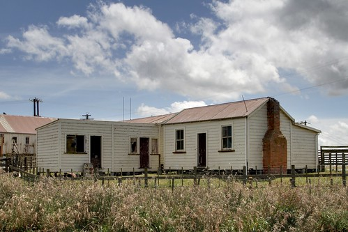 Old farm accommodation, Rewa, Rangitikei, New Zealand.