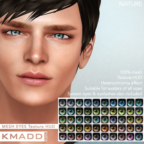 KMADD Mesh Eyes ~ NATURE