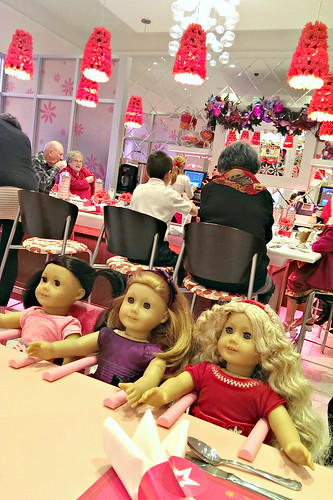 American Girl Cafe: cafe bar