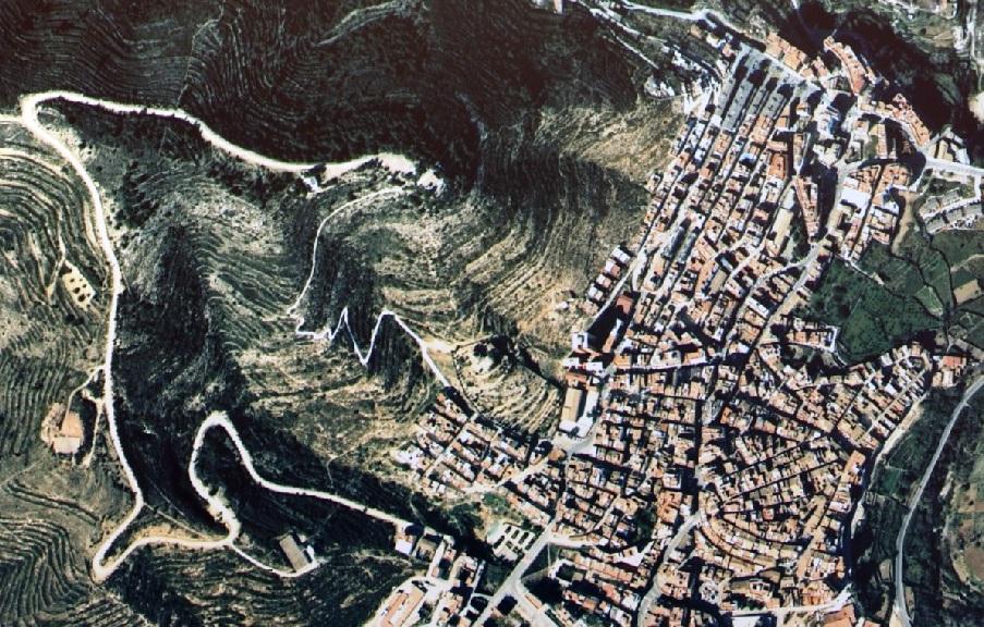 antes, urbanismo, foto aérea, desastre, urbanístico, planeamiento, urbano, construcción, azulejo, triángulo del azulejo