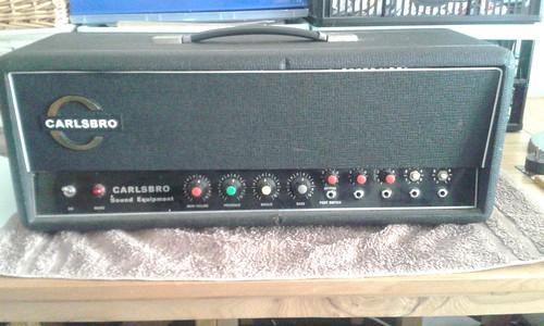 Carlsbro 60 PA Front