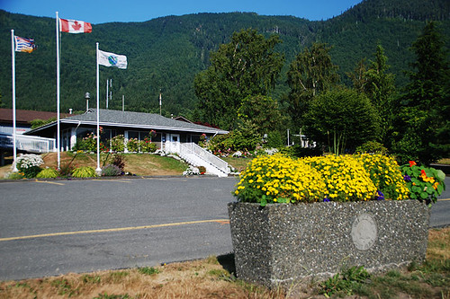 Port Alice Visitor Centre, Port Alice, Neroutsos Inlet, Vancouver Island, British Columbia, Canada