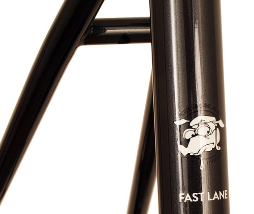 <p>Seat tube shot on the Gunnar Fastlane Disc Cross / Commuter/ Touring Frame.</p>