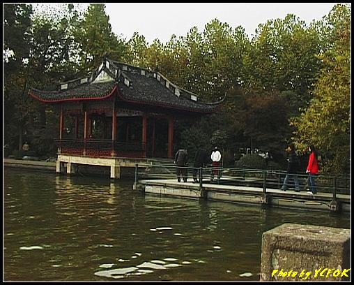 杭州 西湖 (其他景點) - 169 (白堤上的西湖十景之 平湖秋月)