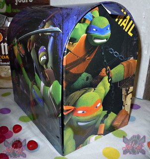 PAPER MAGIC GROUP :: Nickelodeon TEENAGE MUTANT NINJA TURTLES ; VALENTINE'S MAIL BOX iii // ..box (( 2014 ))