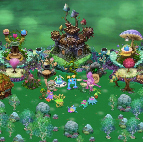 My Singing Monsters Water Island